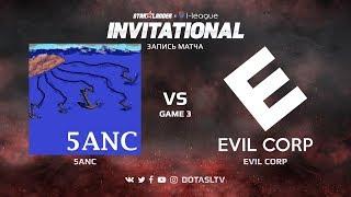 5ANC против Evil Corp, Третья карта, SL i-League Invitational S4 Европейская Квалификация