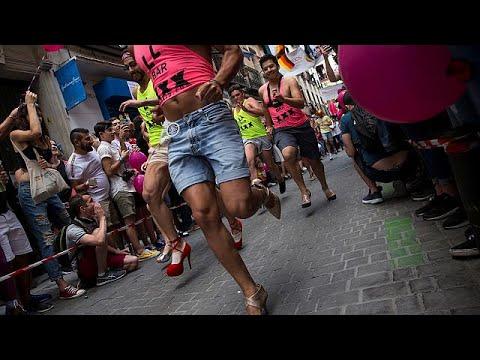 Drag Race με ψηλοτάκουνα στην Μαδρίτη!