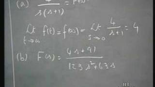 Lecture - 23 Laplace Transforms (4)