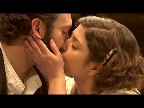 il segreto - il primo bacio tra candela e tristan in lingua originale