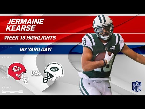 Video: Jermaine Kearse's 9 Catches & 157 Yards vs. KC! | Chiefs vs. Jets | Wk 13 Player Highlights