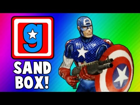 Gmod Cooking Show, Captain America Skits, Hail Hydra! (Garry's Mod Sandbox Funny Moments & Skits)