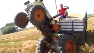 Funny Video Tractor Stunt Failed 😆😆 Tractor Tochan Punjab | Rs Films