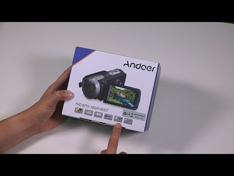 Andoer HDV-302S 3.0 Inch LCD Screen Full HD 1080P Camera Camcorder