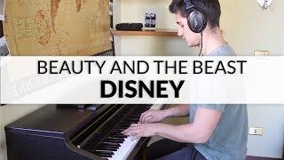 Video Disney's Beauty And The Beast (Ariana Grande and John Legend) | Piano Cover MP3, 3GP, MP4, WEBM, AVI, FLV Juli 2018