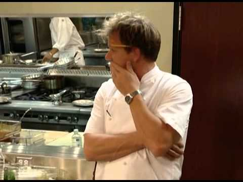 Chef has the mouth of Gordon Ramsay