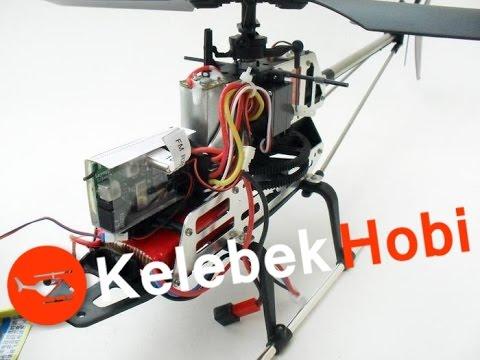 RC Helikopter   Havadan Çekim için Süper Stabil   Coaxial Model