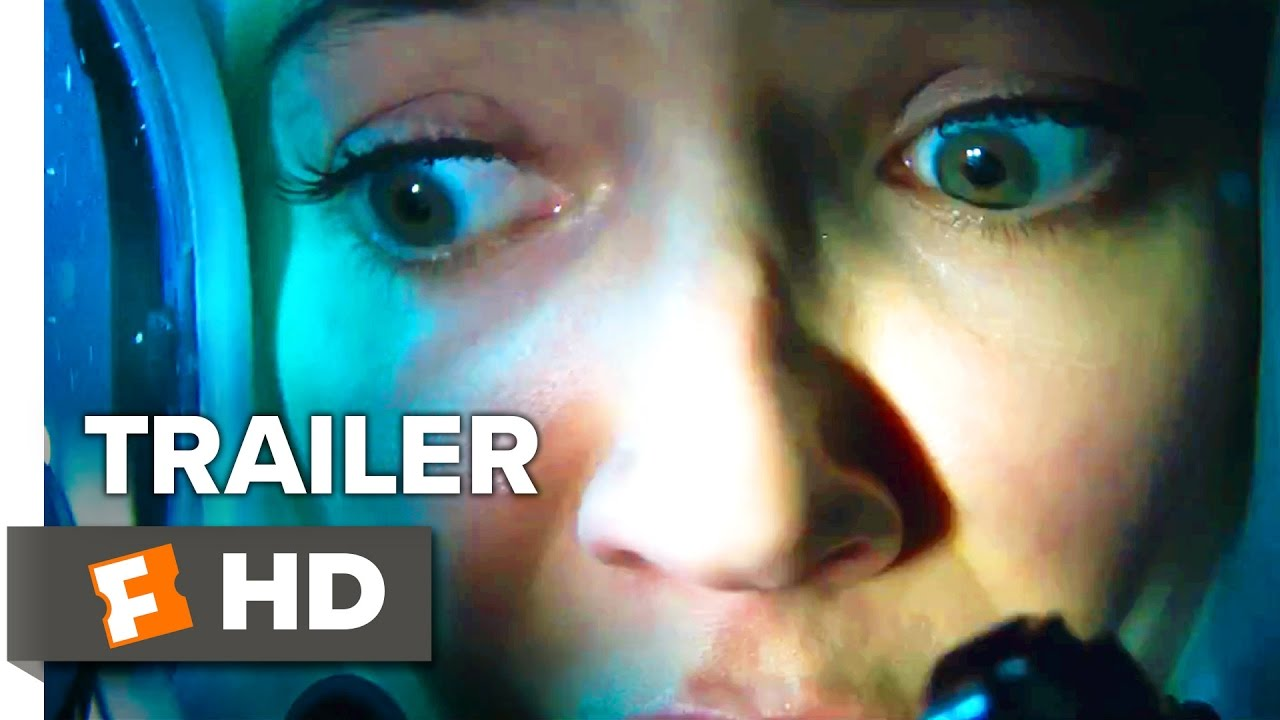 No Way Out, No Way Up with No Chance in Hell as Mandy Moore Faces Her Deepest Fears in '47 Meters Down' (Trailer #2) with Matthew Modine & Claire Holt
