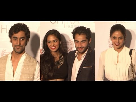Armaan Jain, Kunal Kapoor, Sridevi At China House Fashion Show Red Carpet