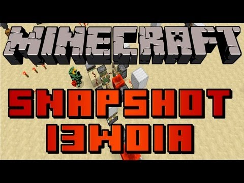 Minecraft 1.5 Preview: Snapshot 13w01a - NEW Ore, Comparator, Trapped Chest, Hoppers and MORE!