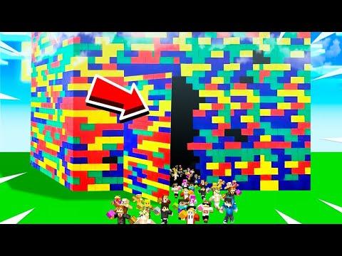 POSTAVILI JSME NEJVĚTŠÍ LEGO DŮM NA SVĚTĚ!!