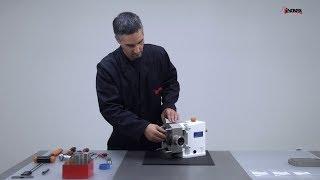SLR lobulární čerpadlo - proces výměny laloku sanitárního lobulárního čerpadla