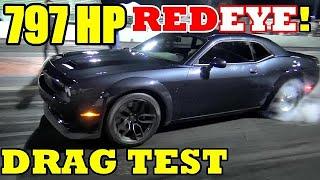 RED EYE !!! 797 HP 2019 Dodge Hellcat Redeye - Civilian 1/4 Mile DRAG VIDEO !! -  RoadTest® by Road Test TV