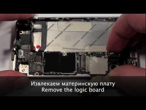 Замена стекла айфон 4s видео