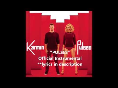 Karmin - Pulses (Official Instrumental) with lyrics