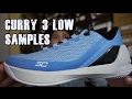 Under Armour Curry 3 Low Unboxing/Review