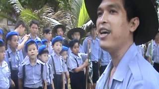 Sinh Hoạt Đầu Ngày - Trại Hè Lagi 2010 - GĐPT Đức Chơn