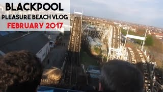 Vlog from 18th February 2017, when my friends surprised me with a trip to Blackpool Pleasure Beach for my 21st birthday! Had a fantastic day and here are some of the highlights.More adventure vlogs coming in 2017! Subscribe to see them.