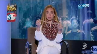 بالفيديو.. مذيعة مصرية تكشف سبب سقوط شعرها على الهواء