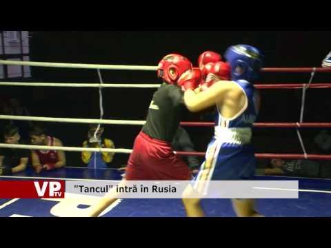 """""""Tancul"""" intră în Rusia"""
