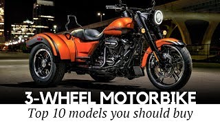 9. Top 10 Trikes and 3-Wheel Motorcycles that Define Supreme Riding Comfort
