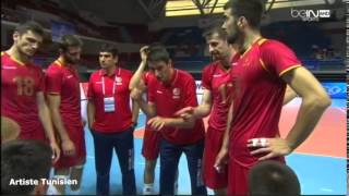 World League 2015, Montenegro 3-0 Tunisia, Red No.9