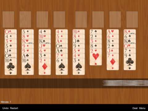 Video of FreeCell Classic