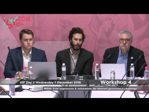 Free Expression & Extremism: An Internet Governance Challenge