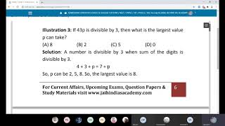 Simplification Problem - 3 - TNPSC Unit 10 Aptitude| JAI HIND IAS ACADEMY ONLINE LIVE CLASS Rs.5000