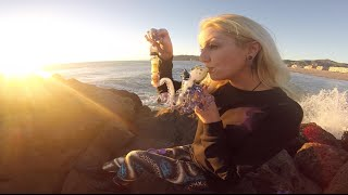 DAB THE KRAKEN | beach sesh in California | CoralReefer w/ WickedGlass by Coral Reefer