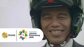 Video Aksi Keren Presiden Joko Widodo Meriahkan Opening Ceremony Asian Games 2018 MP3, 3GP, MP4, WEBM, AVI, FLV Januari 2019