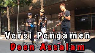 Video Pengamen bertato ini nyanyi lagu Deen Assalam bikin suasana langsung hening MP3, 3GP, MP4, WEBM, AVI, FLV Januari 2019