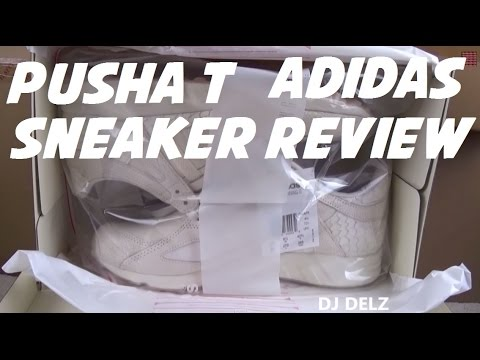 "Pusha T adidas EQT Running Guidance 93 ""King Push"" Sneaker Detailed Review WIth @DjDelz !!! @PushaT"