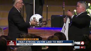 Riverdale football player remembered