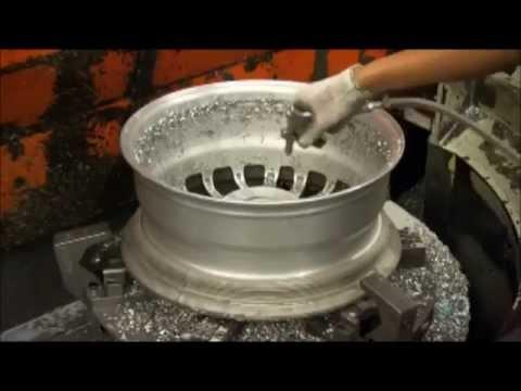 How It's Made - Alloy Wheels (видео)