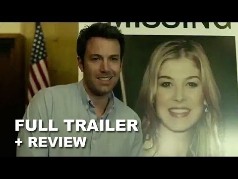 review trailer - Gone Girl debuts its official trailer for 2014, the new Ben Affleck and David Fincher movie! Watch it today with a trailer review! http://bit.ly/subscribeBTT...
