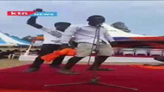 Budalangi youth have a special song for Raila Odinga as he tours Western Kenya