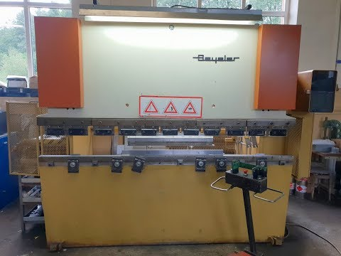 NC Hydraulic Press Brake BEYELER EURO 65/2550 1994