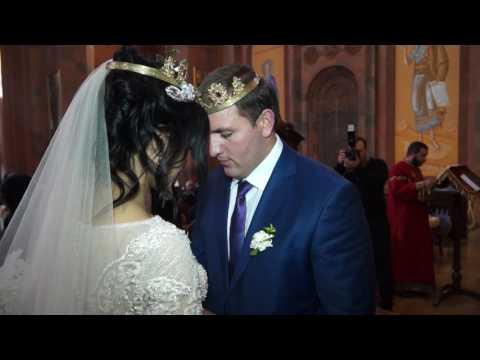 Manuk Studio  + 374  91 41 73 80  Nver &  Lusine  Wedding  26 02 2017 (видео)