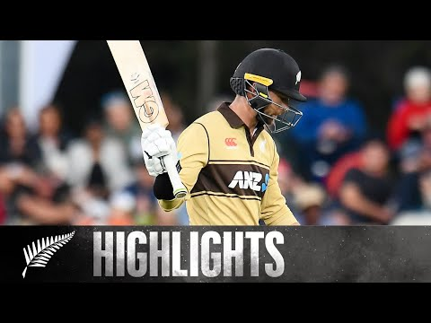Conway's 99* leads BLACKCAPS to opening win | 1st KFC T20 HIGHLIGHTS | BLACKCAPS v Australia