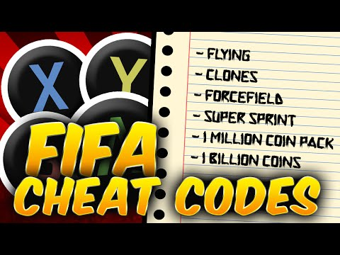 FIFA CHEAT CODES!!