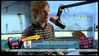 New songs of Ed Sheeran @ GIEL 3FM