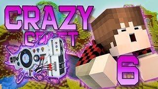 Minecraft: Crazy Craft Modded Survival Playthrough w/Mitch! Ep. 6 - HOW TO MAKE DUBSTEP GUNS!