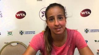 Ingrid Martins vence estreia no quali do Brasil Tennis Cup