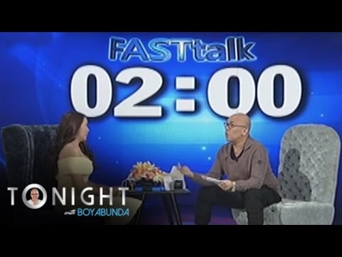 TWBA: Fast Talk With Julia Montes