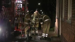 Brand in de Dorpsstraat
