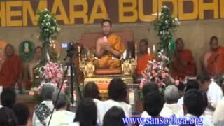 Ven San Sochea @ Wat KaMaRakPuThiKaRam, LA, USA 2013 A