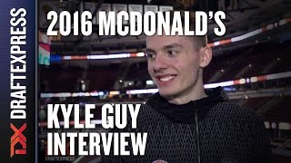 Kyle Guy - 2016 McDonald's All American Interview