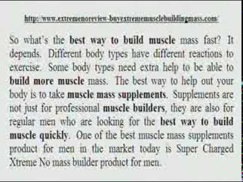 Xtreme No Muscle Building Supplements  Does XtremeNo For Men Work