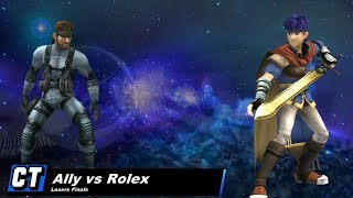 My favorite match of 2013: KTAR8 LF, Ally (Ike) vs. Rolex (Snake)
